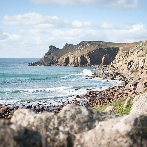Hidden Coves in West Cornwall
