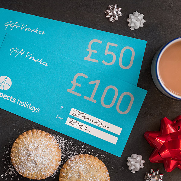Holiday vouchers – the perfect gift!