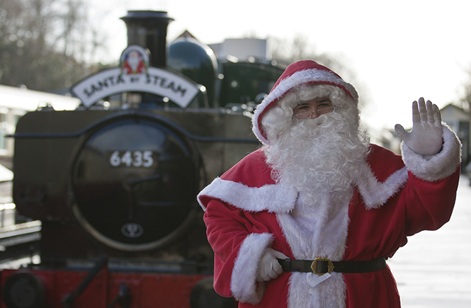 Santa by Steam, Bodmin & Wenford Railway