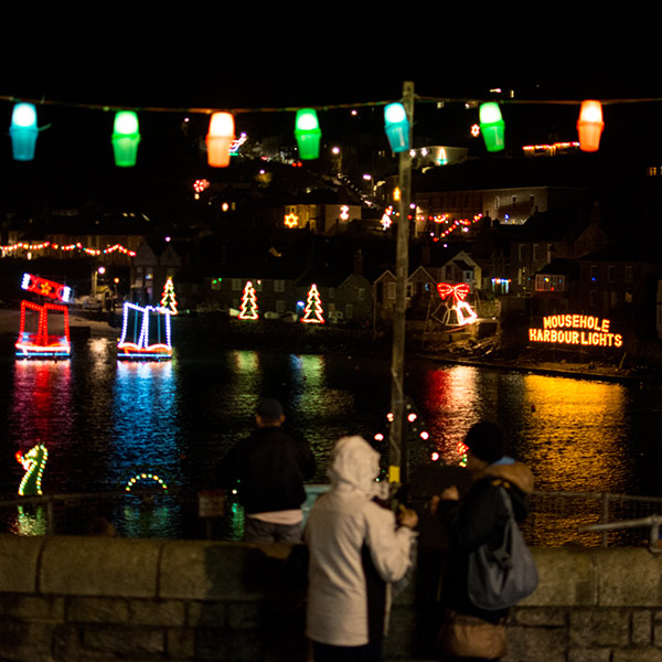 Aspects Holidays helps light up Mousehole for Christmas