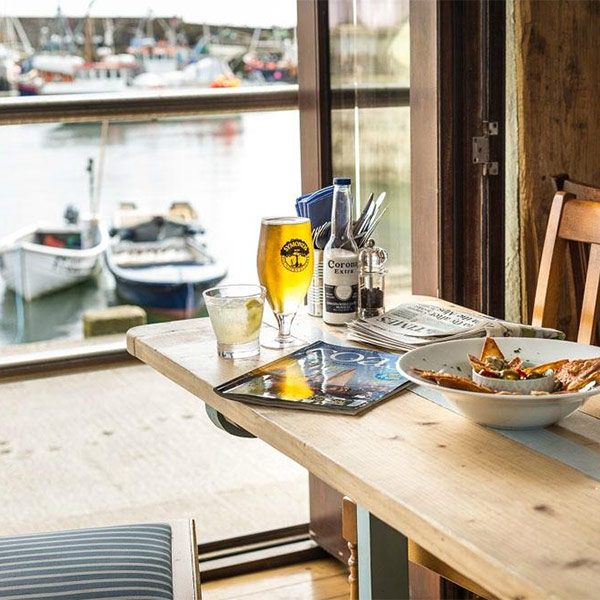 Dining out in Mevagissey