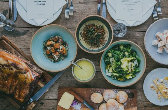 Cornish feasts at Nancarrow