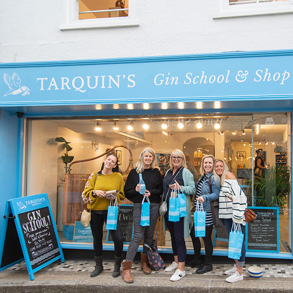 Gin distilling with Tarquin's Gin School in St Ives