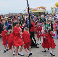 May Day in St Ives
