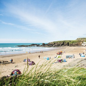 Beaches in Bude