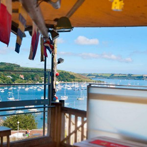 Falmouth: Cafés and Restaurants with a View