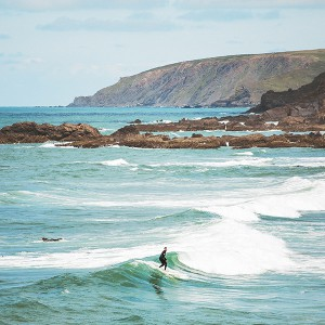 Surfing in Bude