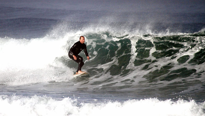Chapel Porth Surfer