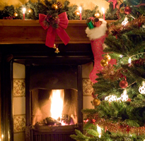 Christmas Light Switch On