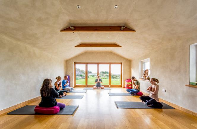 Yoga holidays in Cornwall