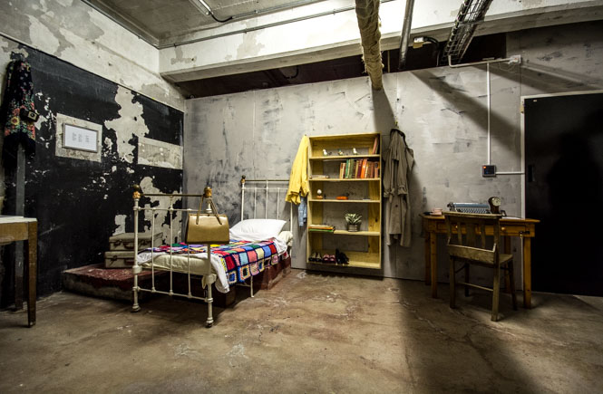The 'Cabin Fever' room