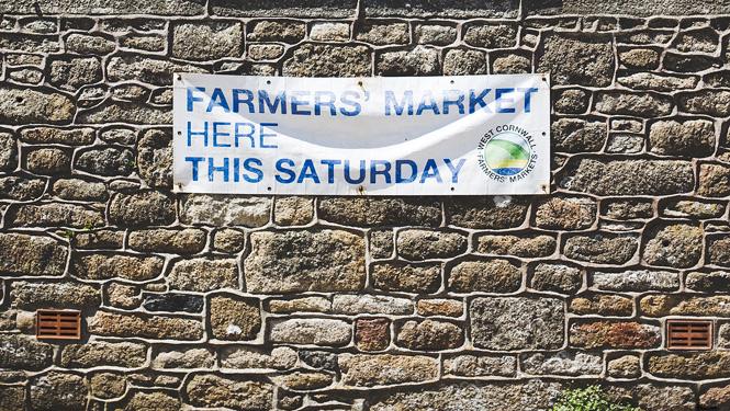 Farmers Markets in West Cornwall