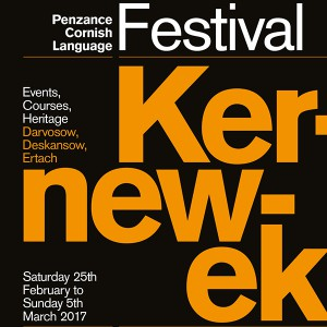Kernewek Festival and Heartland's St Piran's Day