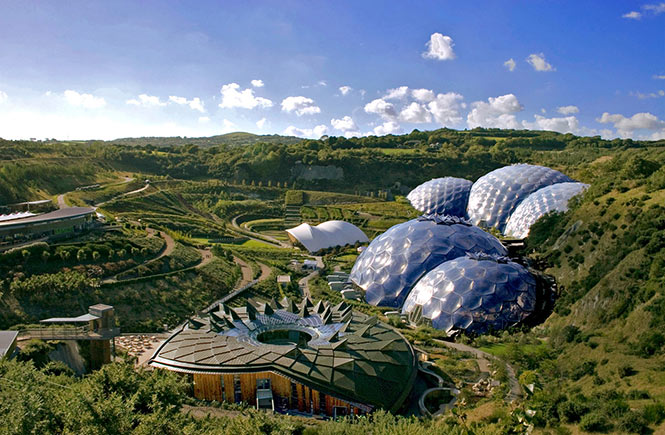 The Eden project by Tamsyn William