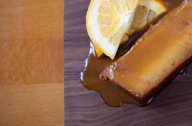 lemon dessert at la casita