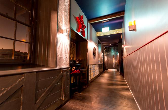 Corridor to Screen 1