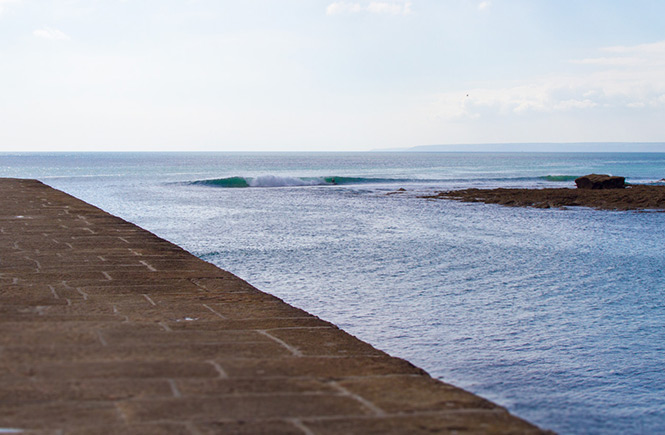 Porthleven Surfer