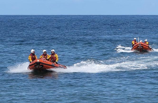 RNLI Boat Launch