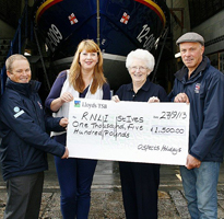 Aspects Holidays continue supporting RNLI St Ives