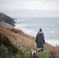 Coastal path walk from St Ives to Zennor