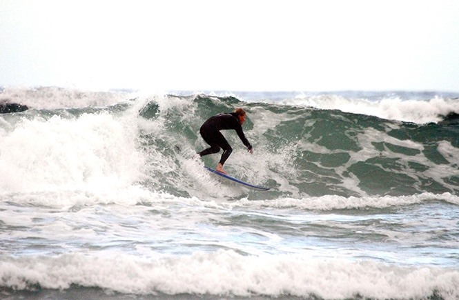 St Agnes Surfer