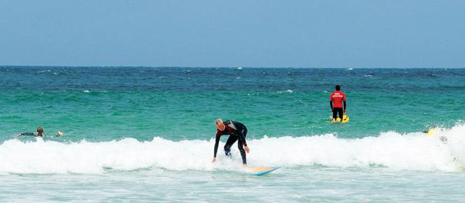 Sennen Surfing