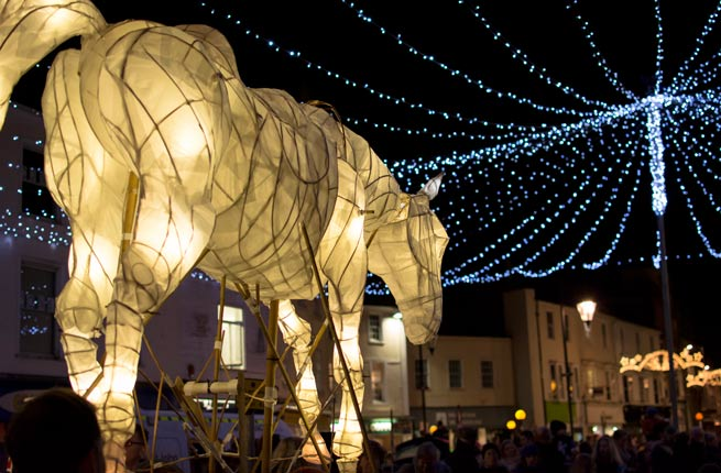 Truro-City-of-Lights-horse