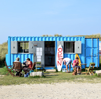 The best beach-front cafes in West Cornwall