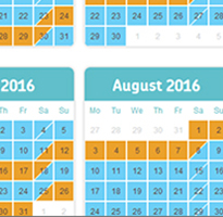 Managing advance bookings from 2016