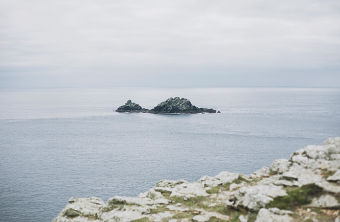 The Brisons rock formation, Cape Cornwall