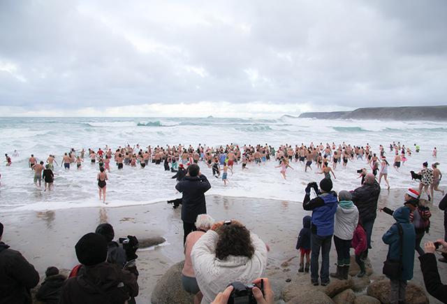 Spectators can outnumber participants