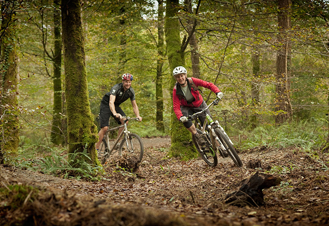 Cornwall cycle tracks