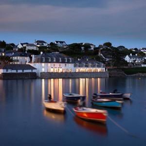Christmas dinner venues in Cornwall