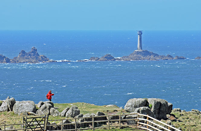 Longships lighthouse, Land's End