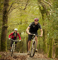 Off-road cycle trails in Cornwall