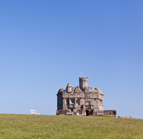 A day out at Pendennis Castle