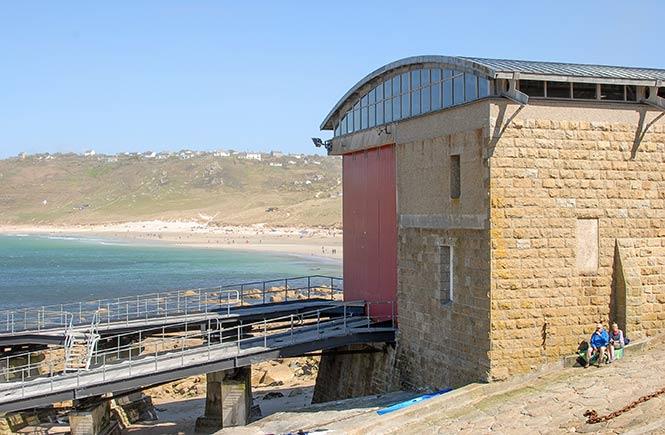 sennen-lifeboat-station