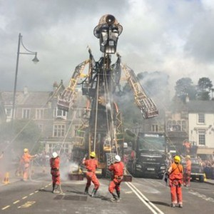 The Man Engine, steaming across Cornwall July 25th – August 6th