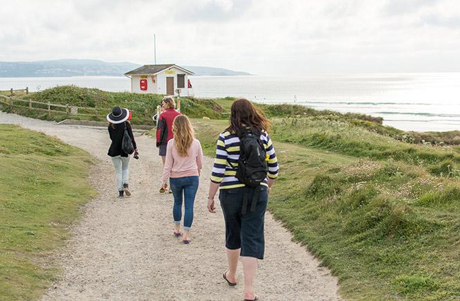 foraging on the Cornish coast