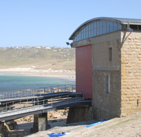 Visiting Sennen Lifeboat House