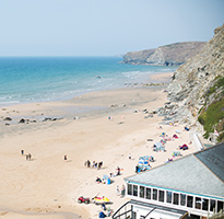 A day of adventure at Watergate Bay