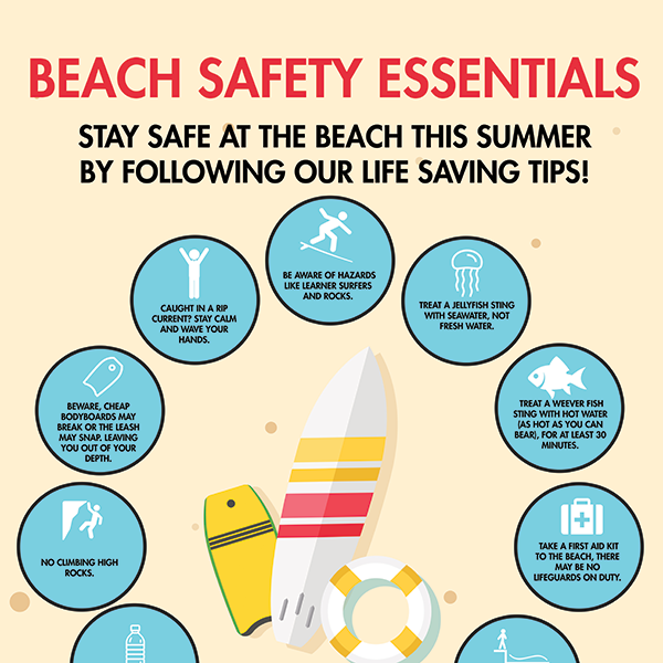 Beach safety in Cornwall