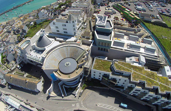 Tate St Ives Aerial View
