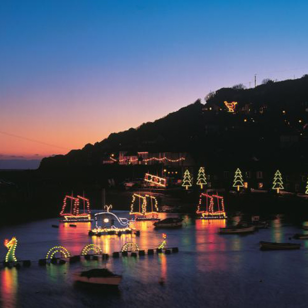 Cornish Christmas lights switch-on dates