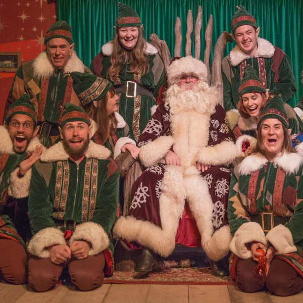 Where to see Father Christmas in Cornwall