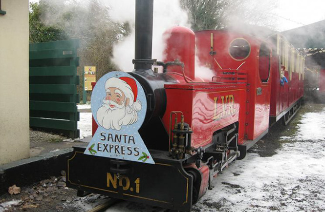 Santa Specials at Lappa Valley