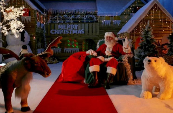 Santa Grotto and Elf Emporium