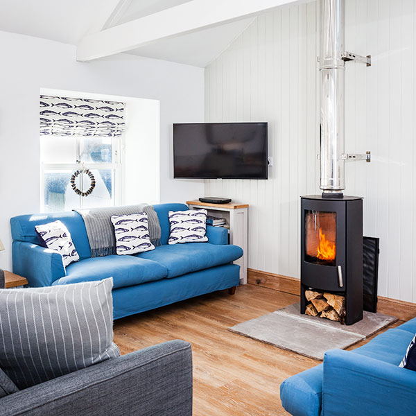 10  properties with woodburners for a winter getaway