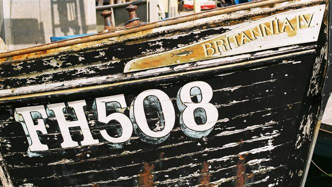 Fishing boat in Newlyn