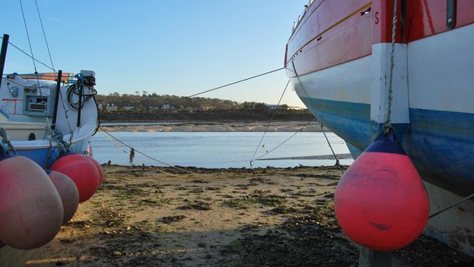 Lelant beach & boats